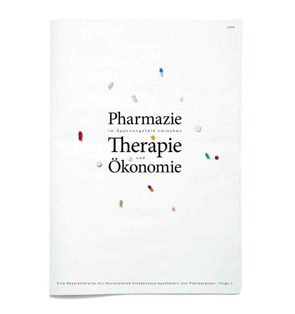 pharma werbung wegener ratiopharm die zeit beilage titel