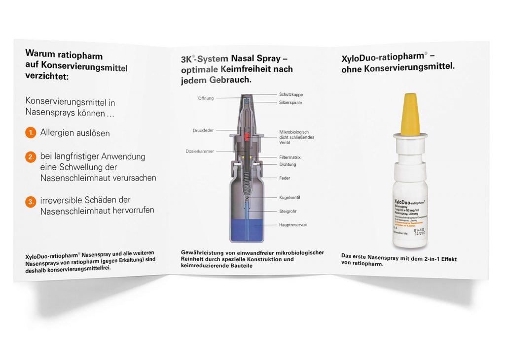 pharma werbung wegener ratiopharm nasenspray xyloduo mailing