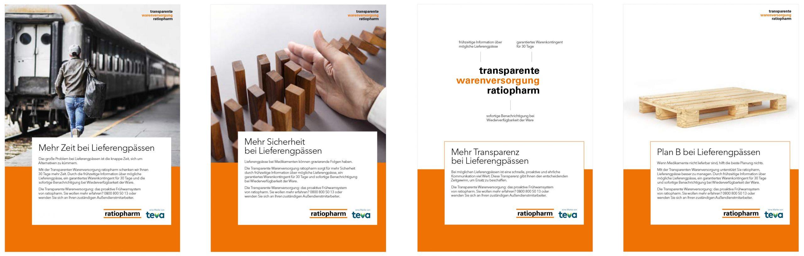 pharma werbung wegener transparente warenversorgung ratiopharm anzeigen